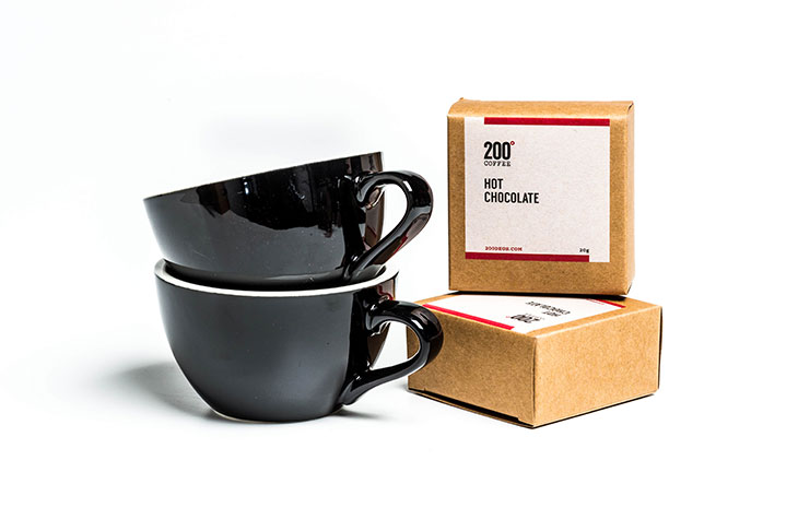 200 Degrees Coffee hot chocolate gift set