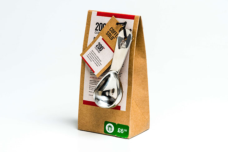 200 Degrees Coffee Solo - coffee and scoop pack