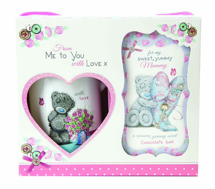 From Me to You range, mug and delicious chocolate bar gift set