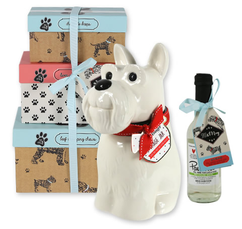 Gifts for Dogs gift range packaging