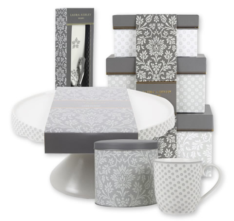 Laura Ashley gift range packaging