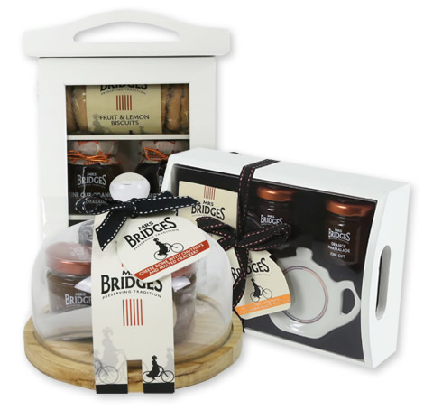 Mrs Bridges gift range packaging