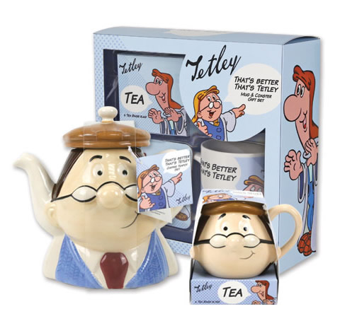 Tetley gift range packaging